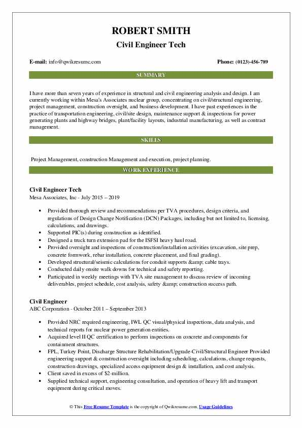 civil engineer resume samples qwikresume of experienced pdf agile consultant retail job Resume Resume Of Experienced Civil Engineer