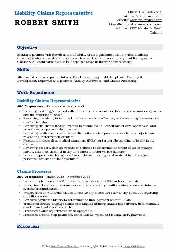 claims representative resume samples qwikresume entry level pdf table of contents for Resume Entry Level Claims Representative Resume