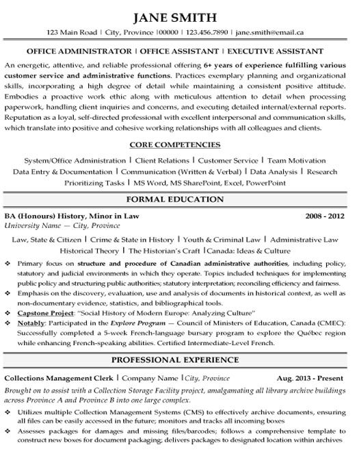 click here to this office administrator resume template http resumetemplates101 examples Resume Sharepoint Administrator Resume