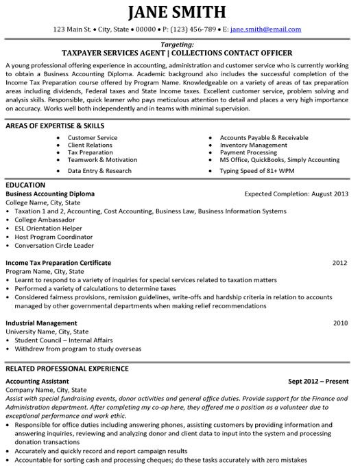 click here to this taxpayer services agent resume template http resumetem accounting jobs Resume Payment Processing Resume Sample
