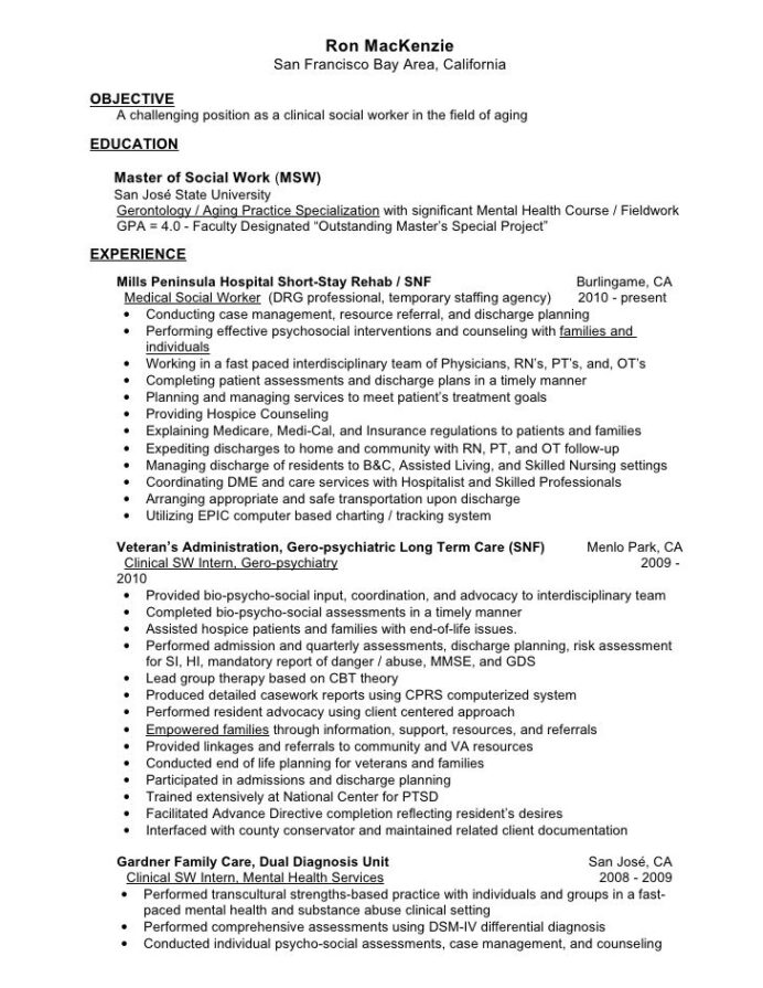 clinical social worker resume resumesdesign cover letter examples for mental health Resume Mental Health Support Worker Resume
