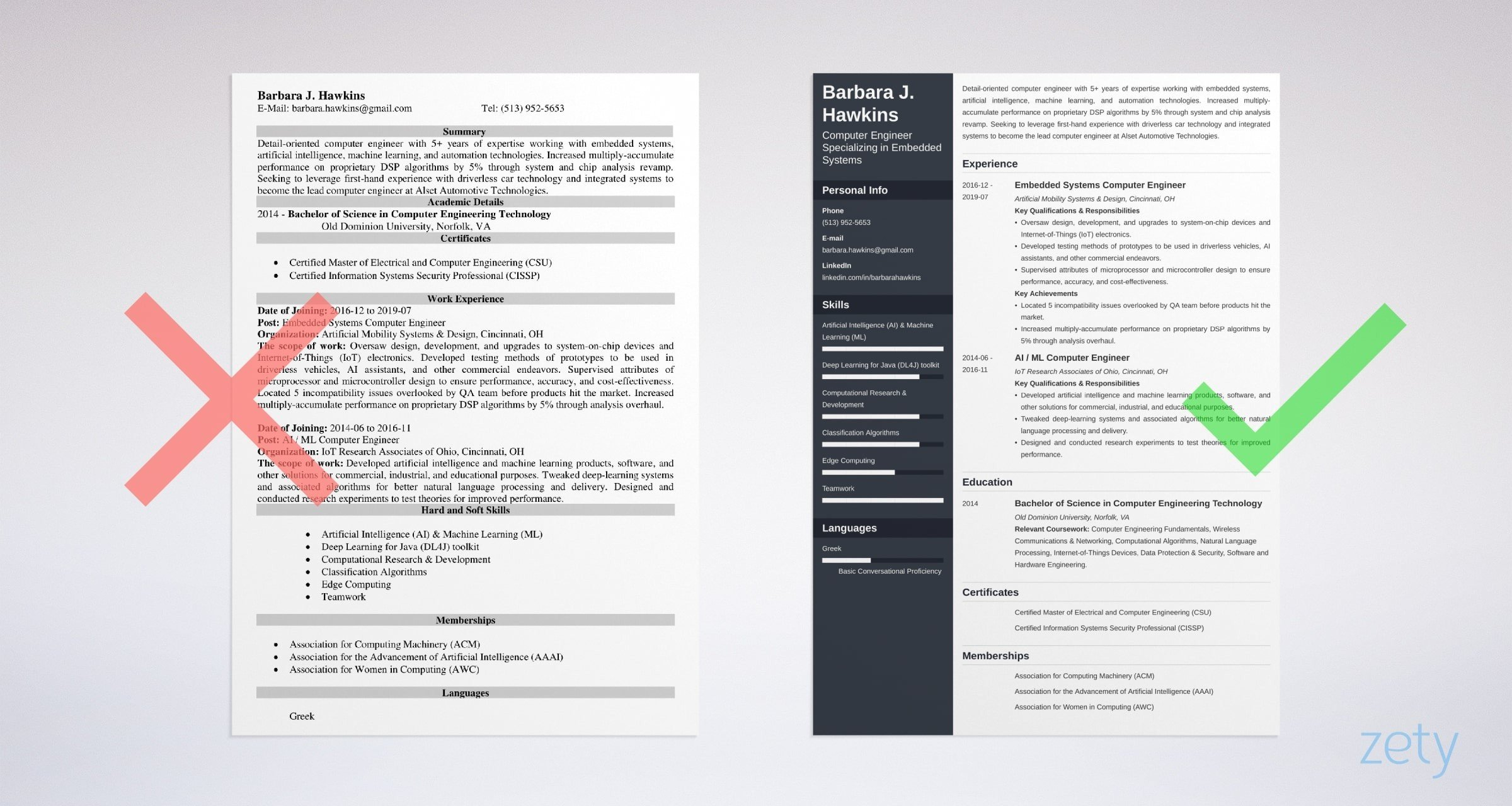 computer engineering resume examples template guide best format for engineers example Resume Best Resume Format For Computer Engineers