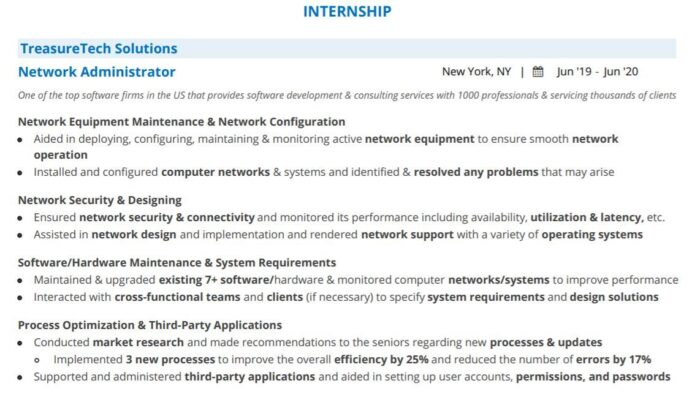 computer science internship resume blog with examples samples student leather folder Resume Computer Science Student Resume