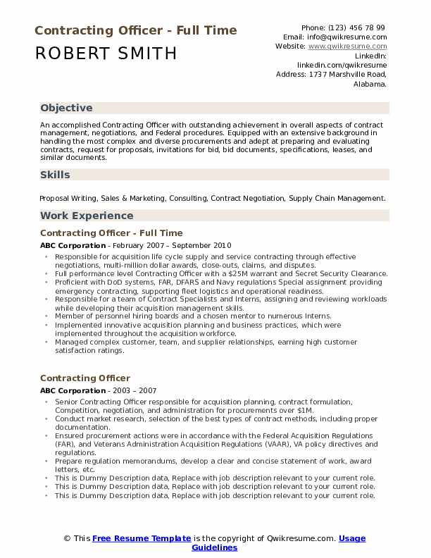 contracting officer resume samples qwikresume government pdf automotive paint technician Resume Government Contracting Officer Resume