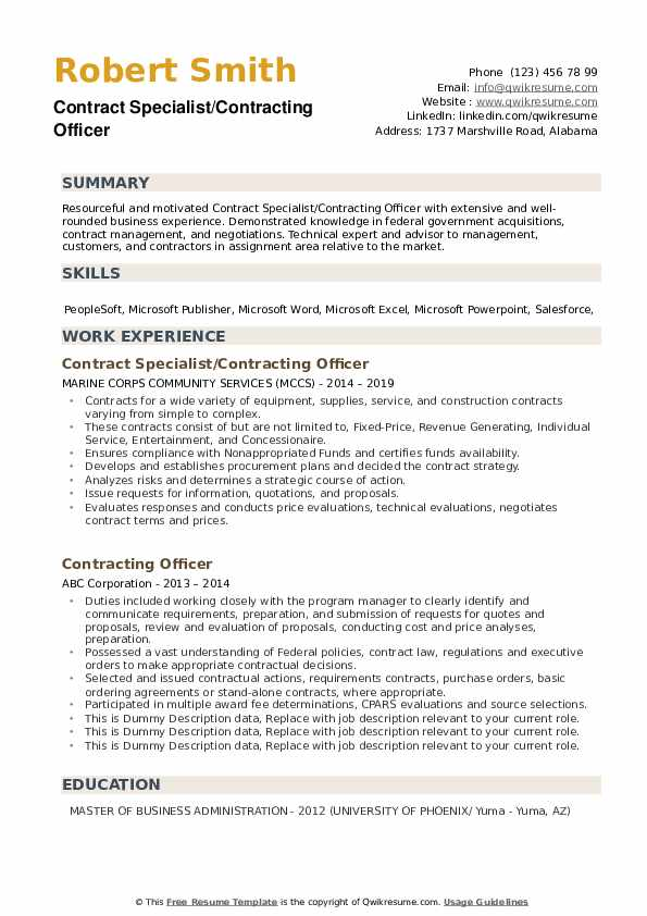 contracting officer resume samples qwikresume government pdf mental health counselor Resume Government Contracting Officer Resume