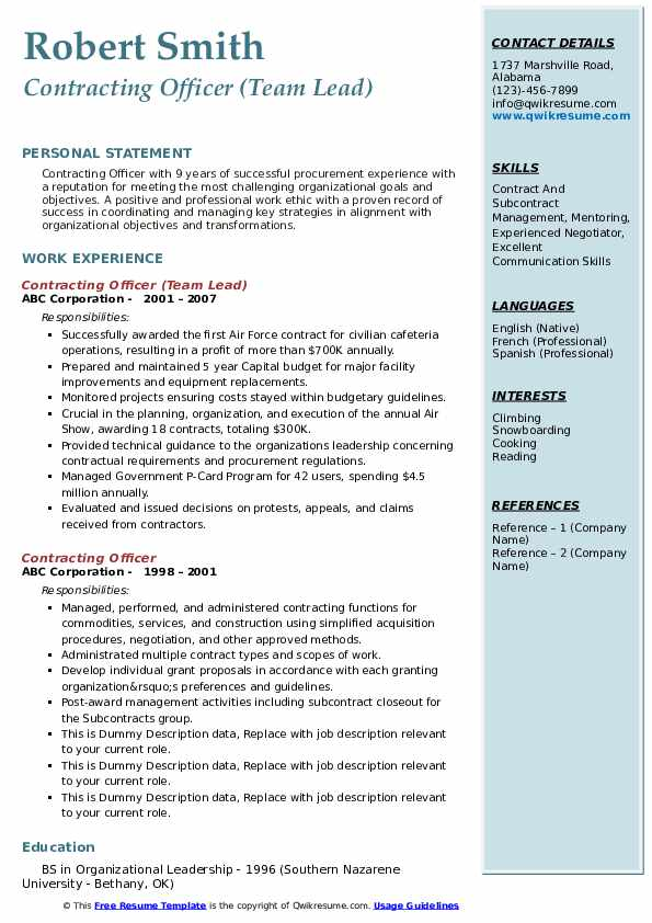 contracting officer resume samples qwikresume government pdf radio broadcasting Resume Government Contracting Officer Resume