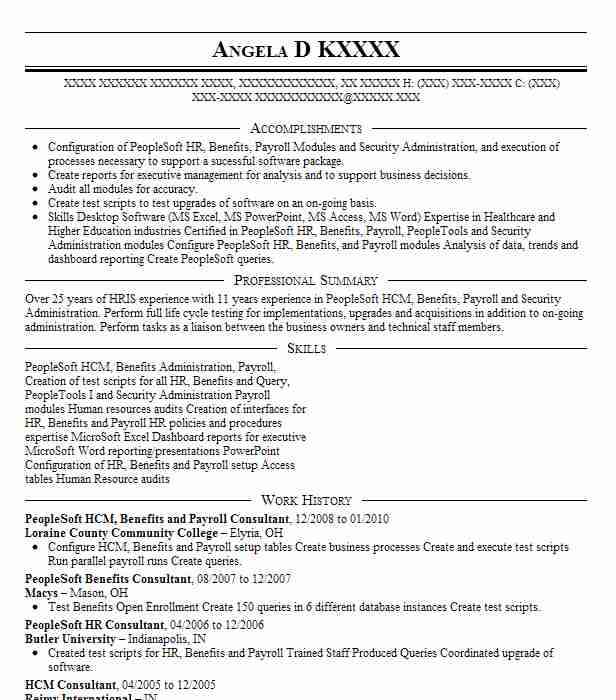 contractor peoplesoft payroll analyst resume example ntt data fenton should you put dates Resume Peoplesoft Payroll Resume