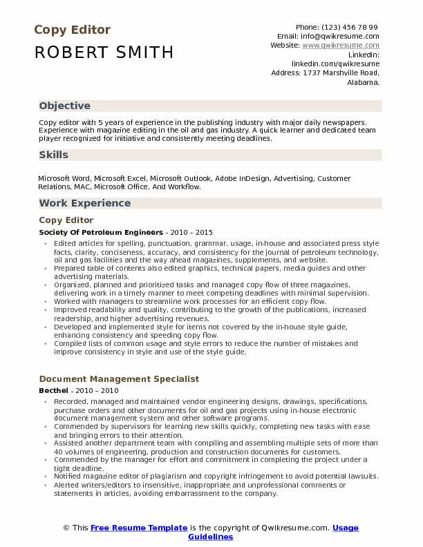 copy editor resume samples qwikresume skills pdf project support sap hana for years Resume Copy Editor Skills Resume