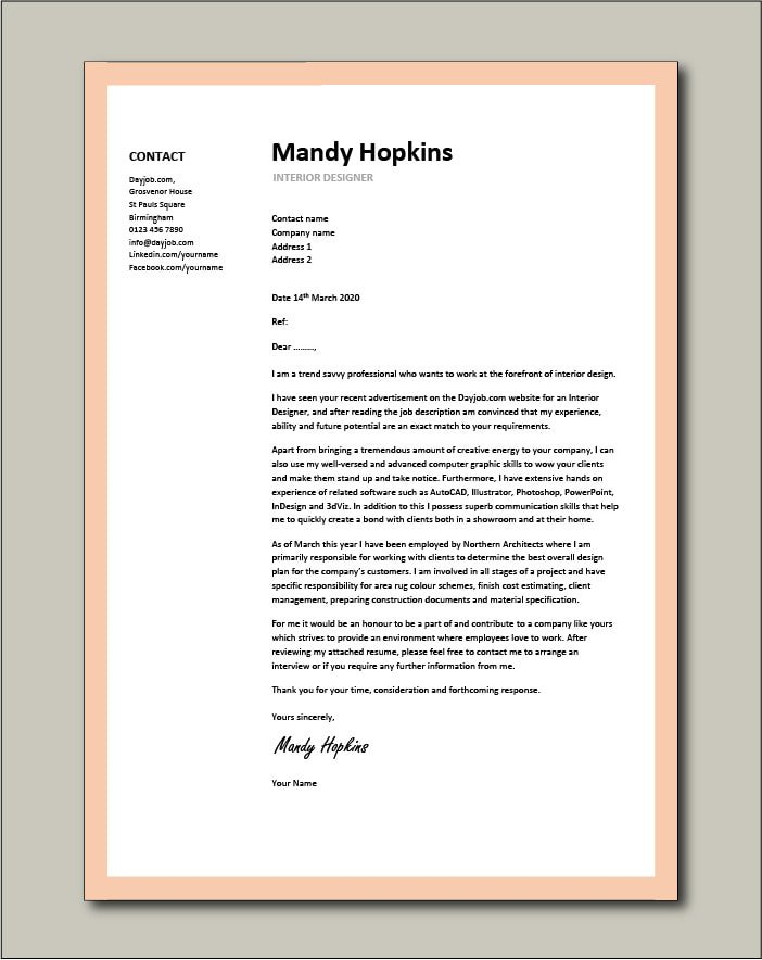 cover letter examples canva resume coverletter14 compliance officer professional Resume Canva Resume Cover Letter