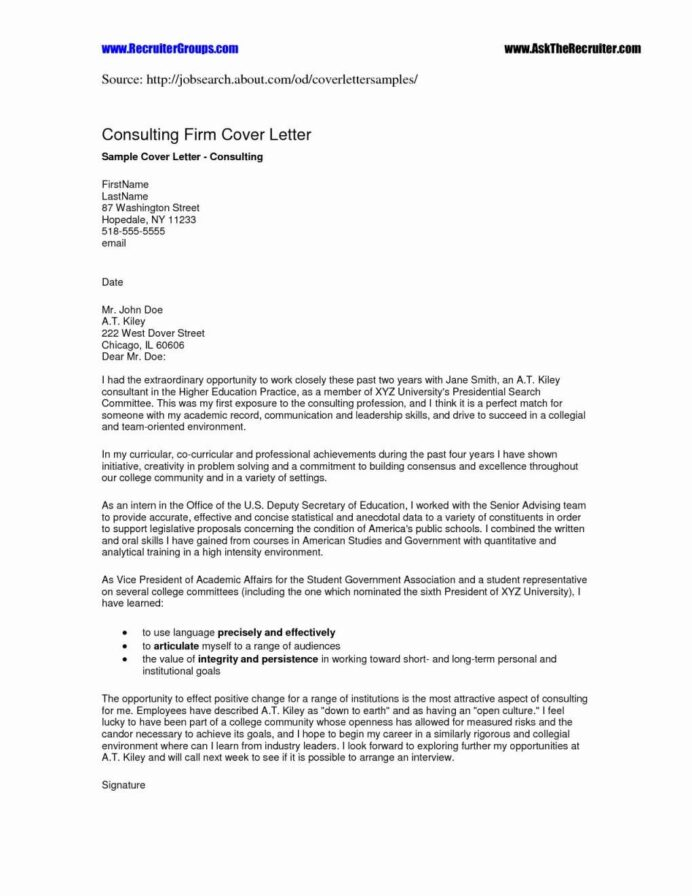 cover letter for job application resume skills sample template the consulting and bible Resume The Consulting Resume And Cover Letter Bible