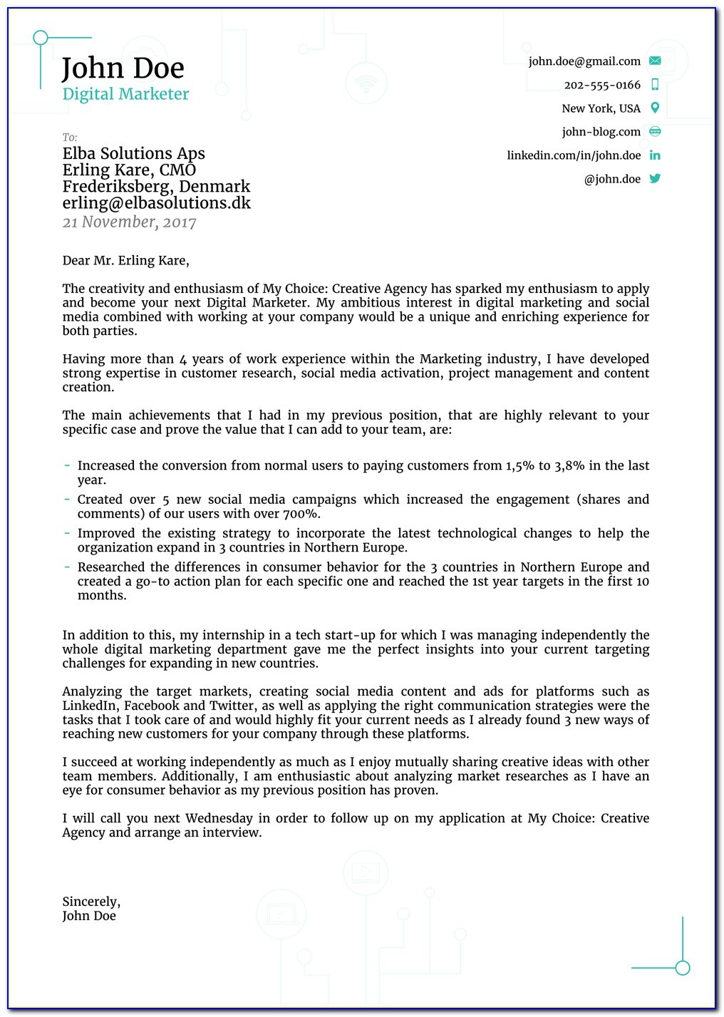 cover letter sample for resume fresh graduate vincegray2014 samples electronics and Resume Cover Letter For Resume For Fresh Graduate