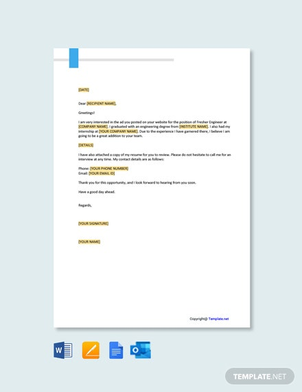 cover letter templates in google docs template net format for resume marine engineer Resume Cover Letter Format For Resume For Marine Engineer