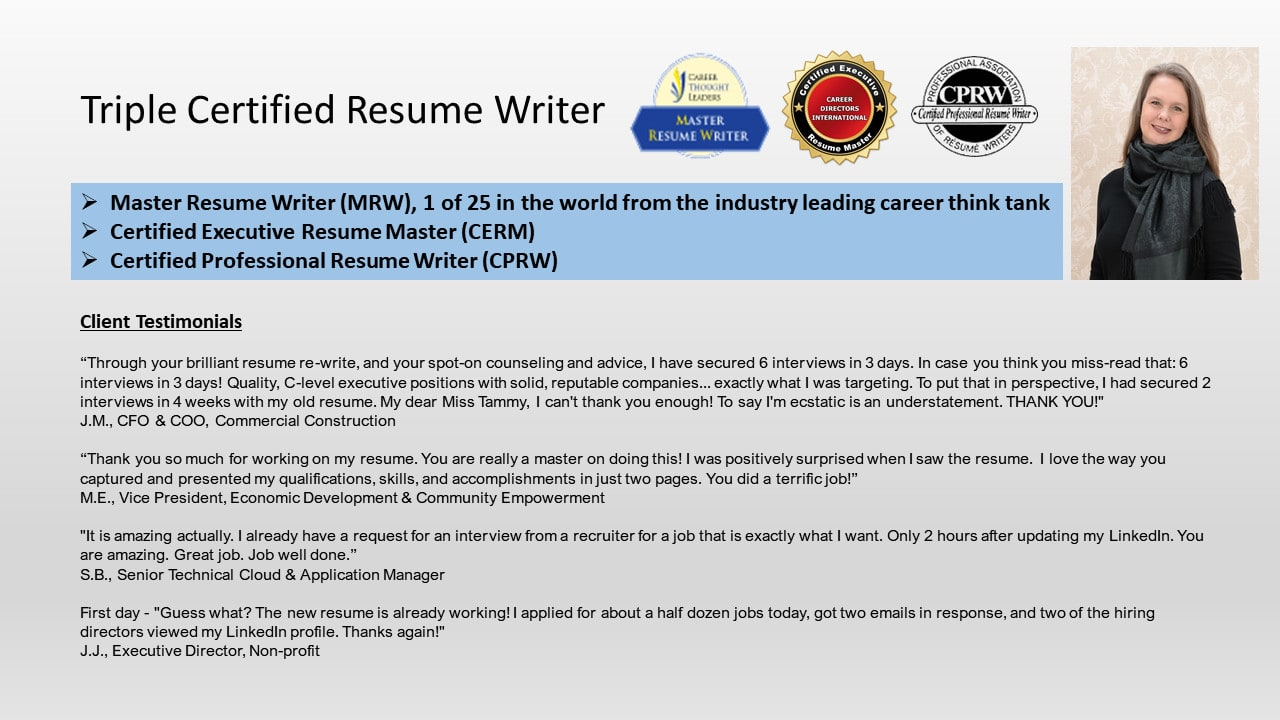 create linkedin profile that increases your visibility by twchisholmmrw master resume Resume Master Resume Writer Mrw