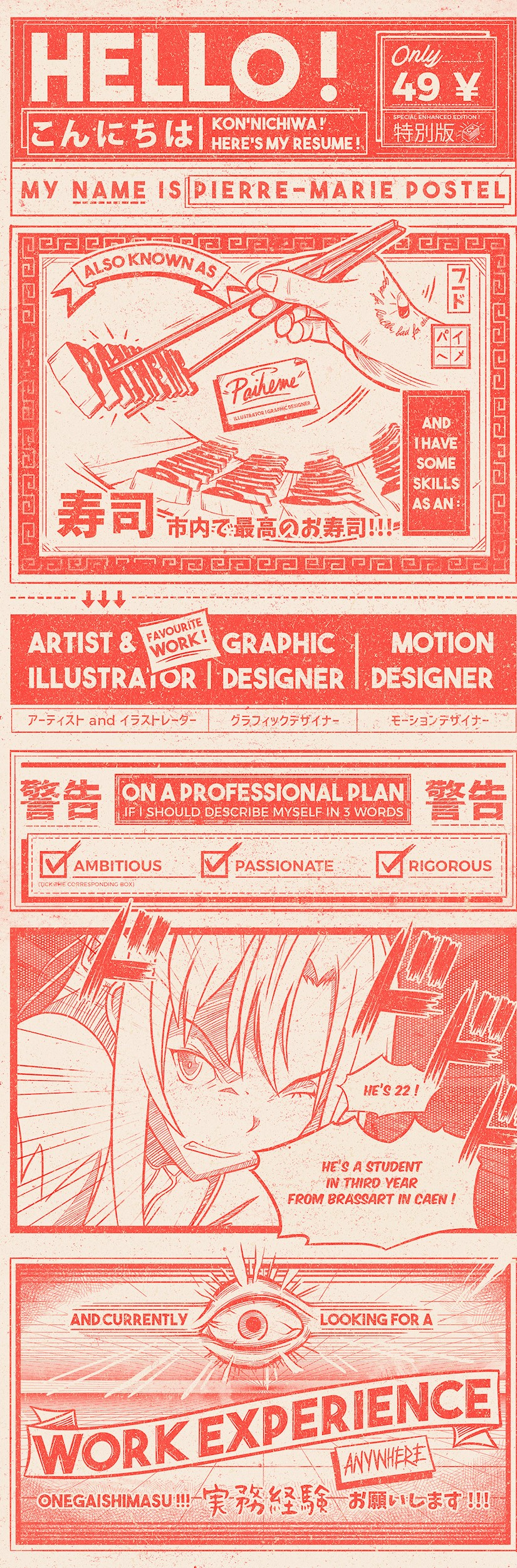 creative graphic designer resume examples templates onedesblog content anime sample Resume Graphic Designer Resume Content