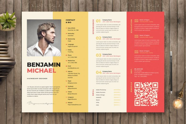 creative resume templates with unique designs theme eye catching 750x500 and references Resume Eye Catching Resume Templates