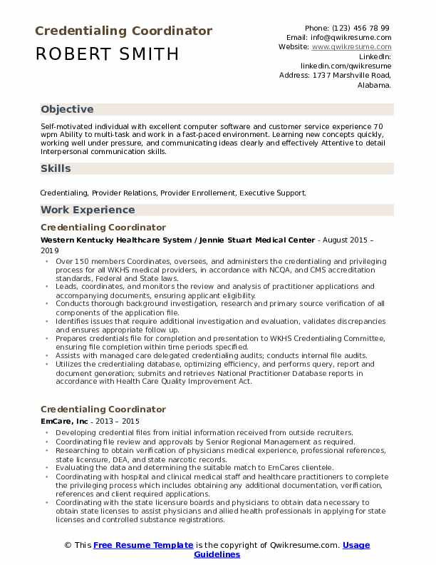 credentialing coordinator resume samples qwikresume specialist sample pdf format for mba Resume Credentialing Specialist Resume Sample