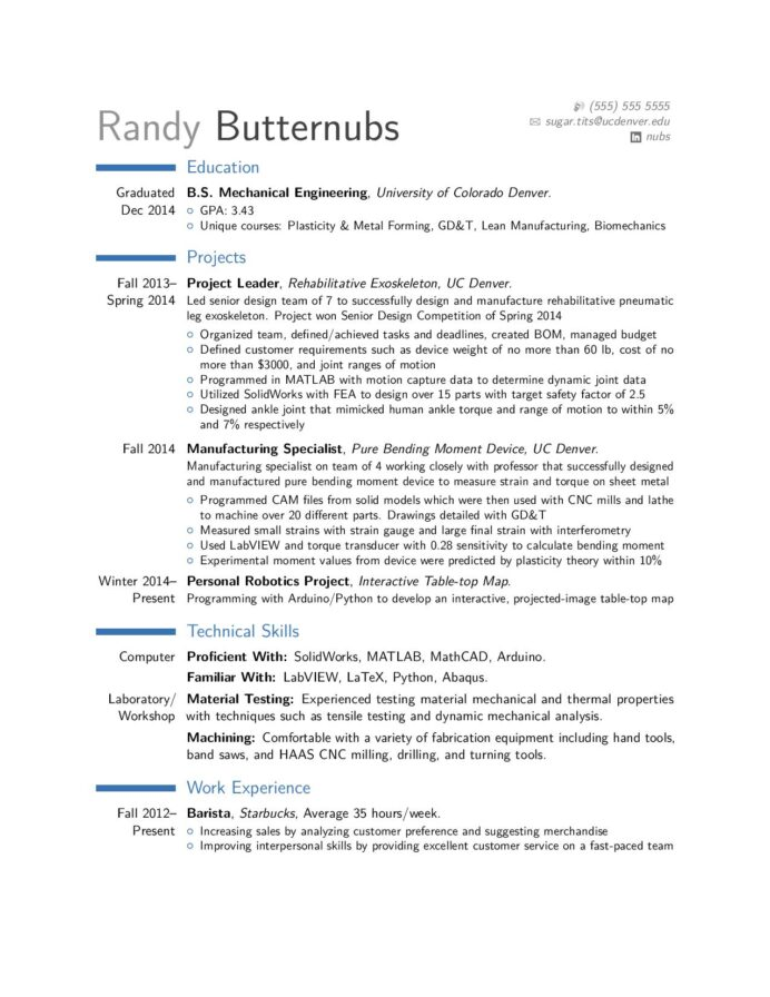 critique of entry level mechanical engineer resume forged in the fires mt doom take look Resume Entry Level Mechanical Engineering Resume
