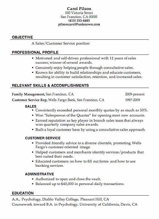 customer service resume objective examples unique sample serv good for build number Resume Build A Resume Customer Service Number