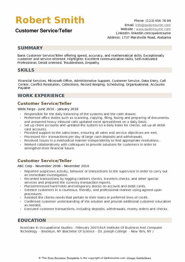 customer service resume samples qwikresume foreign exchange pdf writing services surrey Resume Foreign Exchange Teller Resume