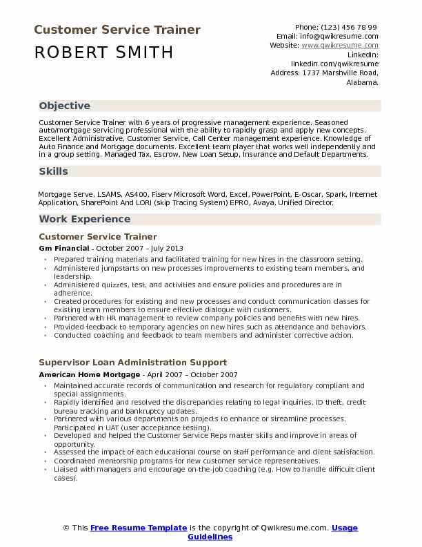 customer service trainer resume samples qwikresume for position pdf child care provider Resume Resume For Trainer Position