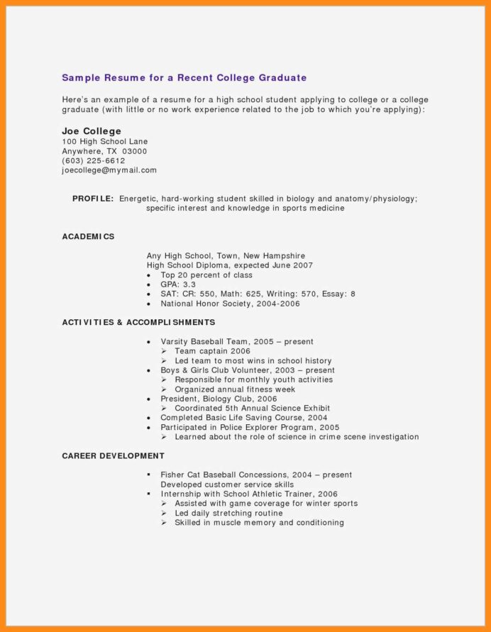 cv samples for students with no experience pdf resume teenager little work microsoft Resume Resume For College Student With Little Experience