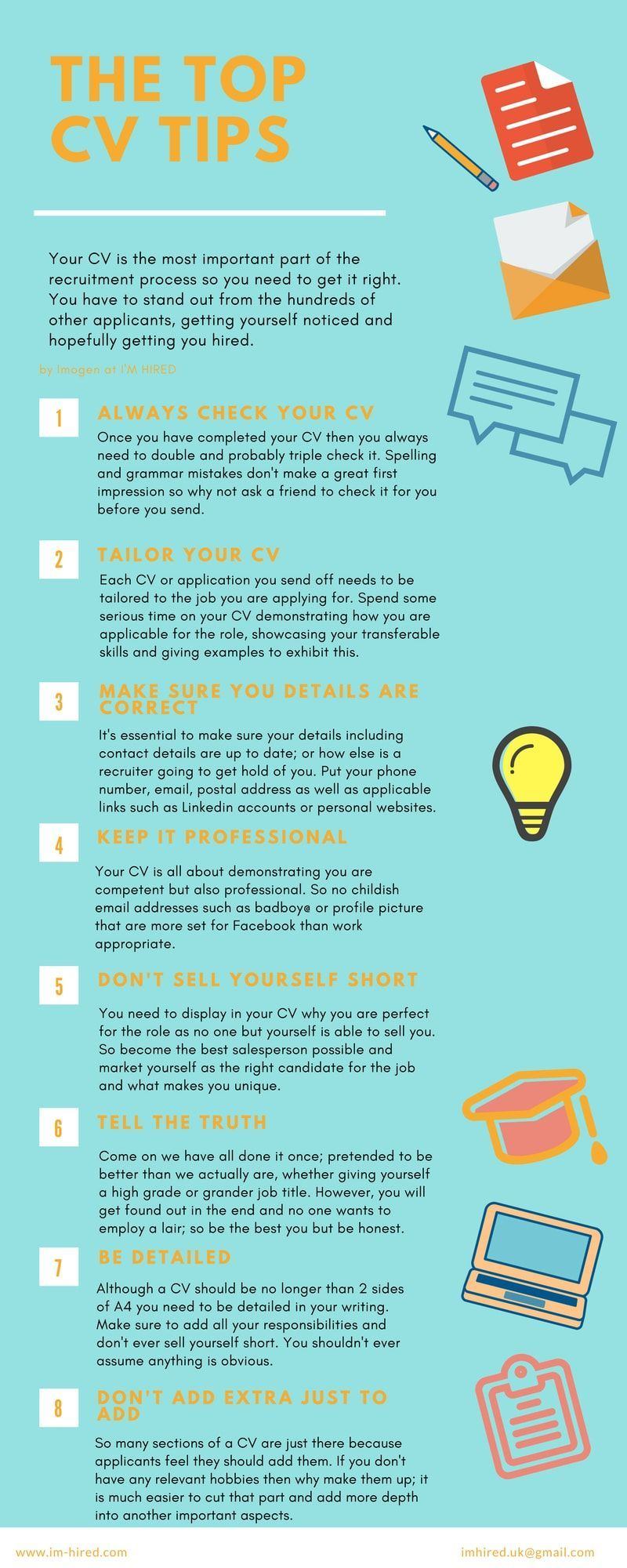 cv top tips to get your noticed resume writing advice with best template for high school Resume Advice With Resume Writing