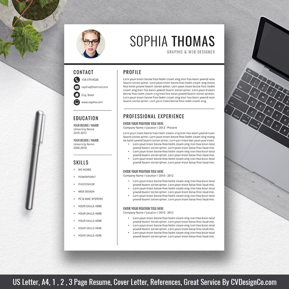 cvdesignco best selling resume templates for job hunters and fresh graduates word Resume Resume Templates For Word 2021