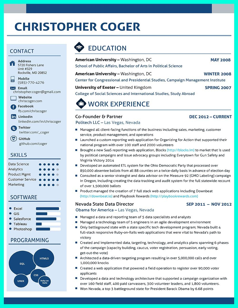 data scientist resume include everything about your education skill qualification and Resume Resume Data Scientist Template