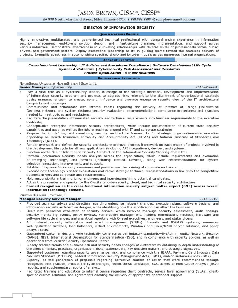 director of information security resume examples rpw sample 791x1024 powerful summary Resume Security Director Resume