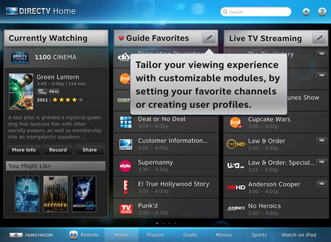 directv for ipad now lets you stream over 3g 4g iclarified resume watching dock worker Resume Directv Resume Watching