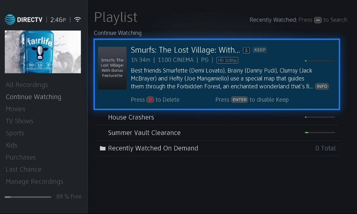 directv set top box playlist redesign community forums resume watching continue screen Resume Directv Resume Watching