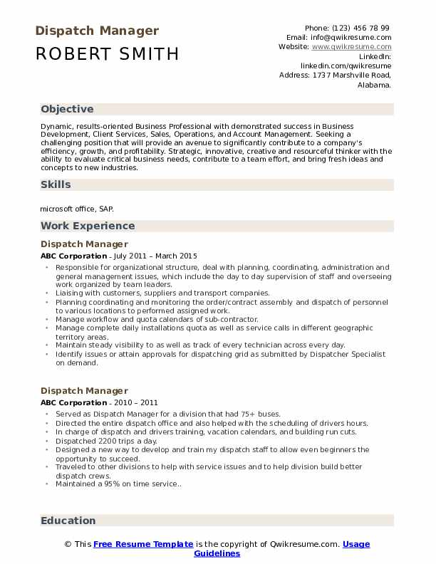 dispatch manager resume samples qwikresume textile supervisor pdf dnp example dietetic Resume Textile Supervisor Resume