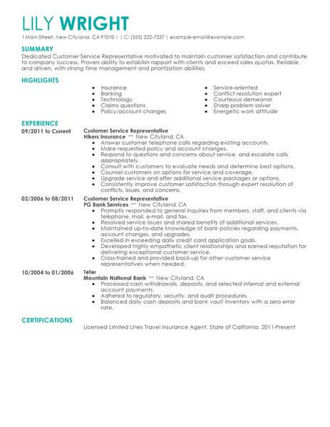 editable resume template for microsoft word livecareer example customer service Resume Example Resume Template Word