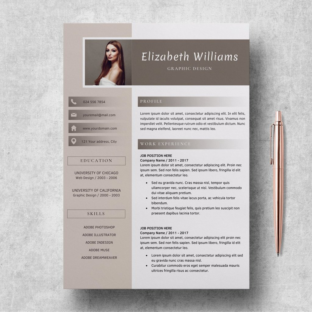 editable resume templates cv format word elizabeth lucatheme the muse template 1024x1024 Resume The Muse Resume Templates