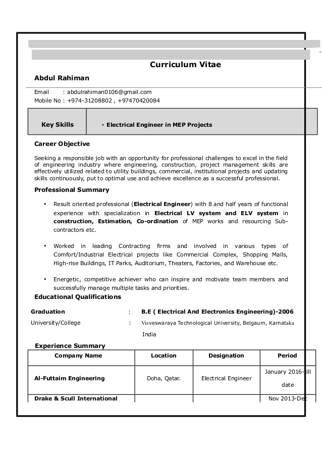 electrical engineer resume technical skills for accounts payable manager best format Resume Technical Skills For Electrical Engineer Resume