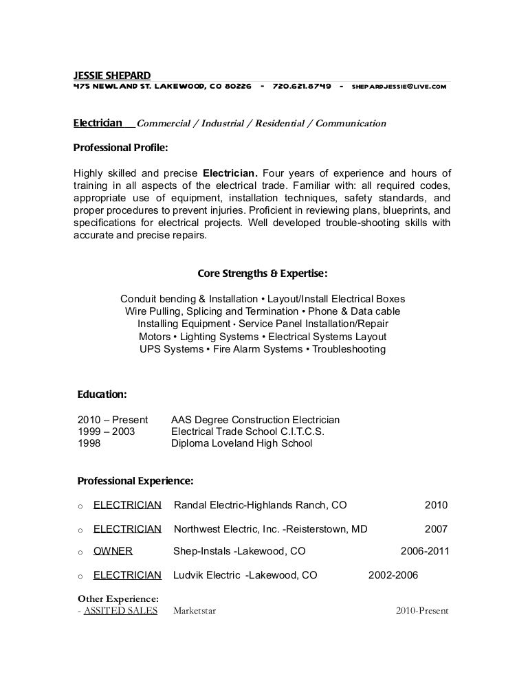 electrician cover letter no experience february electrical apprentice resume objective Resume Electrical Apprentice Resume Objective