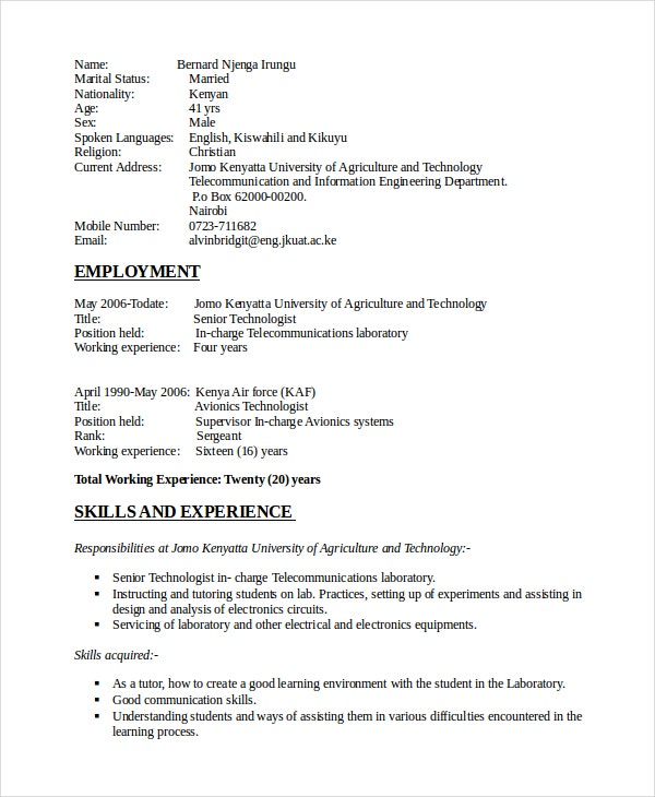 electronics resume template free word pdf document downloads premium templates electronic Resume Electronic Engineering Technology Resume