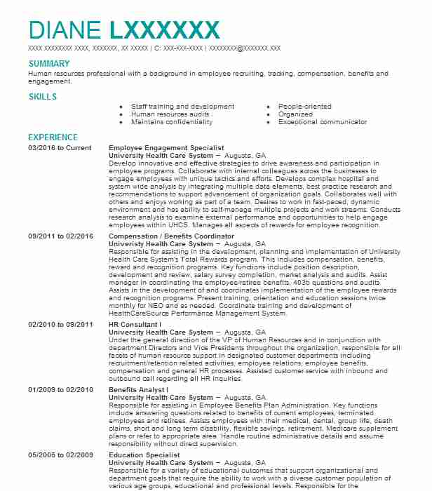 employee engagement specialist resume example port of authority coordinator sending for Resume Employee Engagement Coordinator Resume