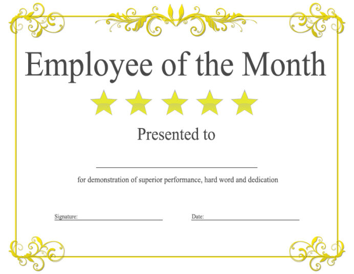 employee of the month award kukook awarded resume mba objective examples free physician Resume Awarded Employee Of The Month Resume