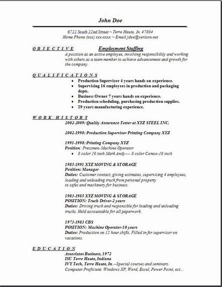 employment staffing resume occupational examples samples free edit with word temp job Resume Temp Job Description Resume