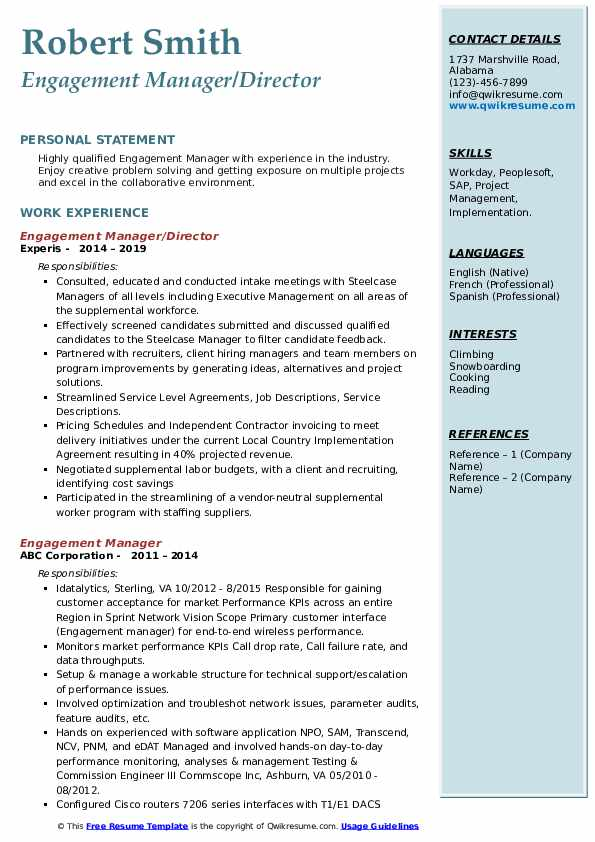 engagement manager resume samples qwikresume employee coordinator pdf copy sample ceh Resume Employee Engagement Coordinator Resume