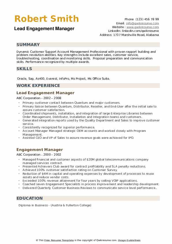 engagement manager resume samples qwikresume employee coordinator pdf format images for Resume Employee Engagement Coordinator Resume