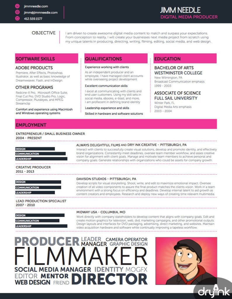 entertainment resumes resume samples template examples sample templates videographer Resume Videographer Resume Examples