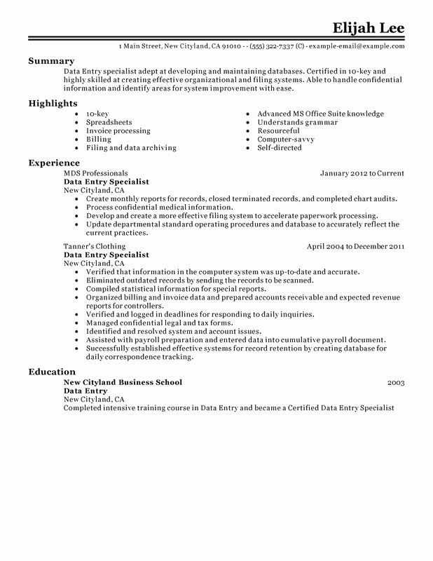 entry level data resume new examples free to try today job description for maintenance Resume Data Entry Job Description For Resume