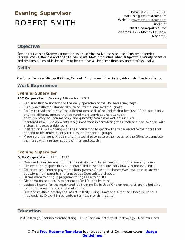 evening supervisor resume samples qwikresume textile pdf cosmetic account executive Resume Textile Supervisor Resume
