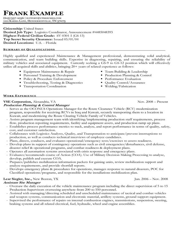 example of federal government resume best format job cover letter for free template Resume Free Federal Resume Template