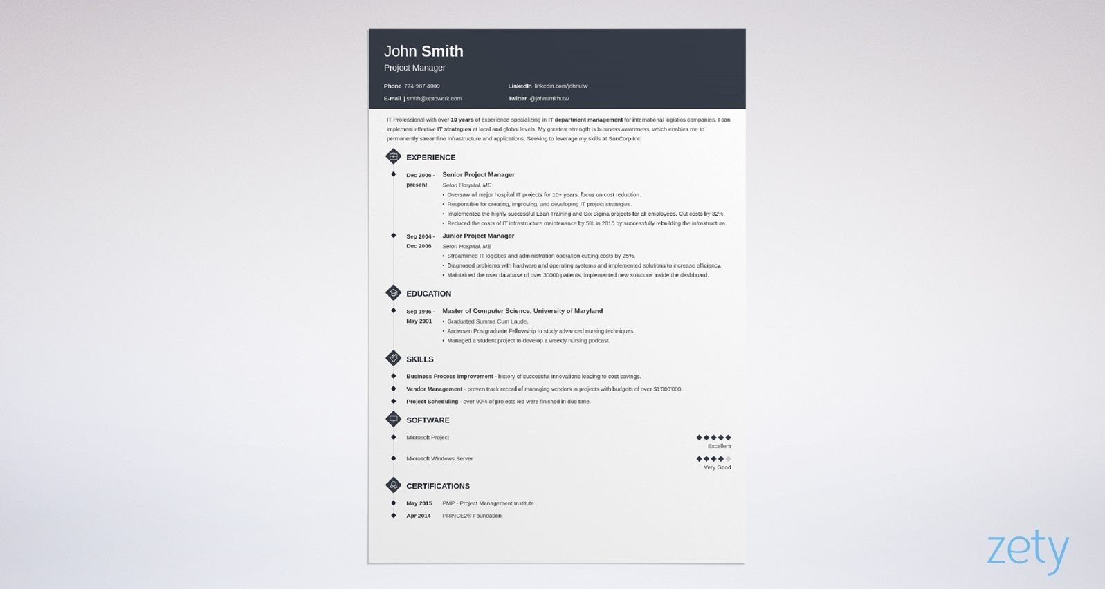eye catching resume templates to get noticed in best records management clerk sample Resume Eye Catching Resume Templates