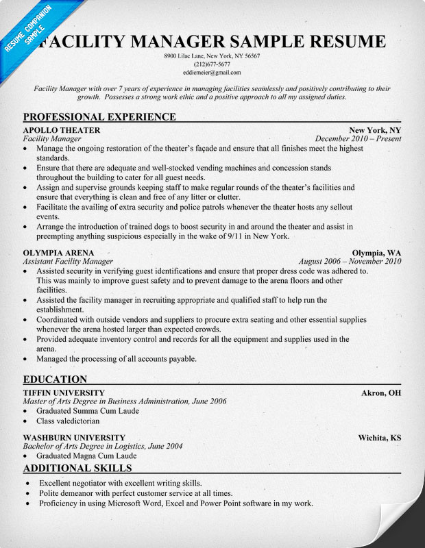 facility maintenance funny quotes quotesgram building manager resume sample new graduate Resume Building Maintenance Manager Resume