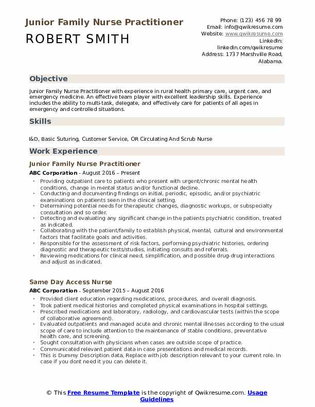 family nurse practitioner resume samples qwikresume psychiatric sample pdf corporate Resume Psychiatric Nurse Practitioner Resume Sample