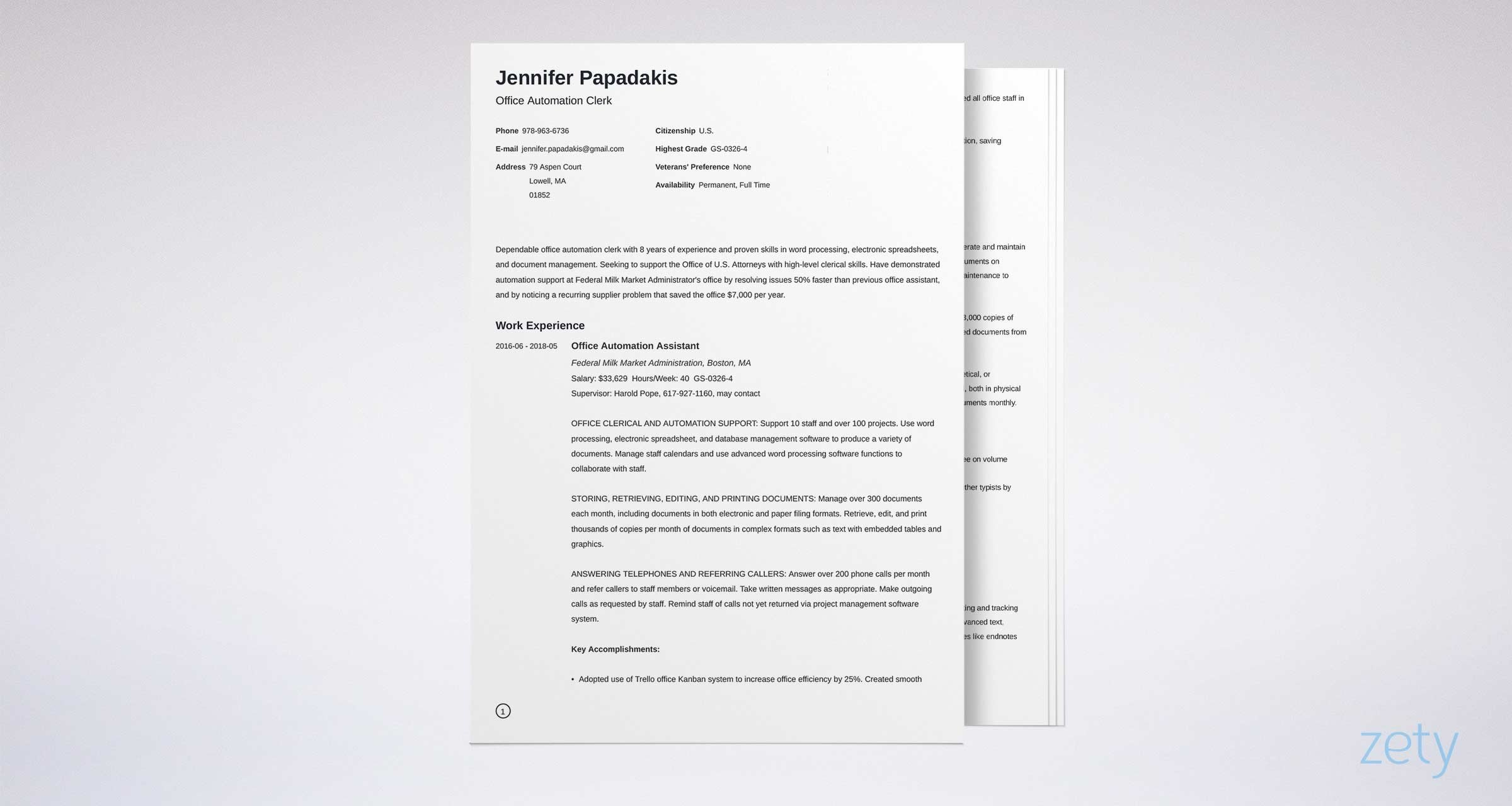 federal resume template format examples sample example athletic trainer construction Resume Sample Federal Resume Format